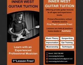 #41 cho Design a flyer for guitar tuition bởi SarahDar