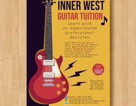 #25 cho Design a flyer for guitar tuition bởi BrunaCalheiros