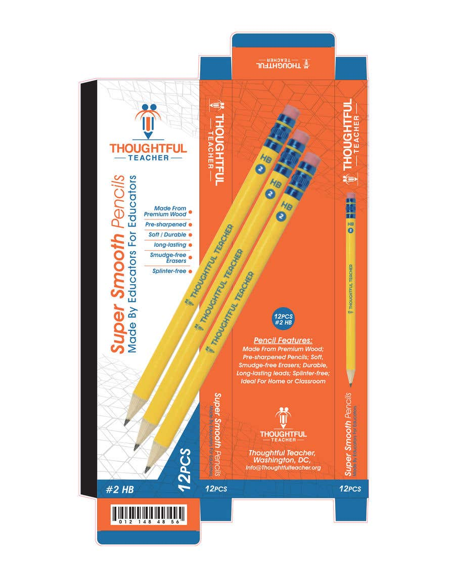 Bài tham dự cuộc thi #25 cho Package Design For A Dozen Pencils