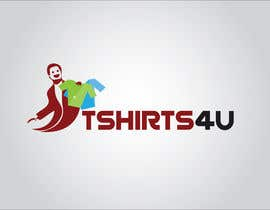 #23 cho Logo Design for new online tshirt shop - tshirts4u bởi hup
