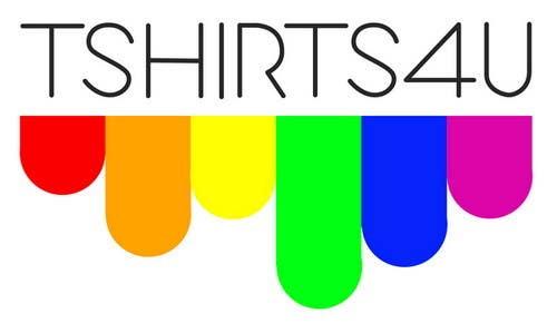 Kilpailutyö #                                        6                                      kilpailussa                                         Logo Design for new online tshirt shop - tshirts4u