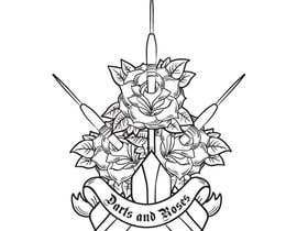 #3 cho Darts and Roses Tattoo Illustration bởi Pinky420