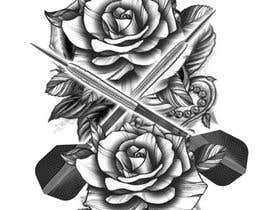 #13 cho Darts and Roses Tattoo Illustration bởi hossaingpix