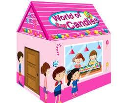 nº 56 pour Graphic Design for Kids Tent Houses par sugar19