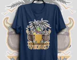 "FARUKTRB tarafından ""Caribbean Viking"" shirt designs için no 34"