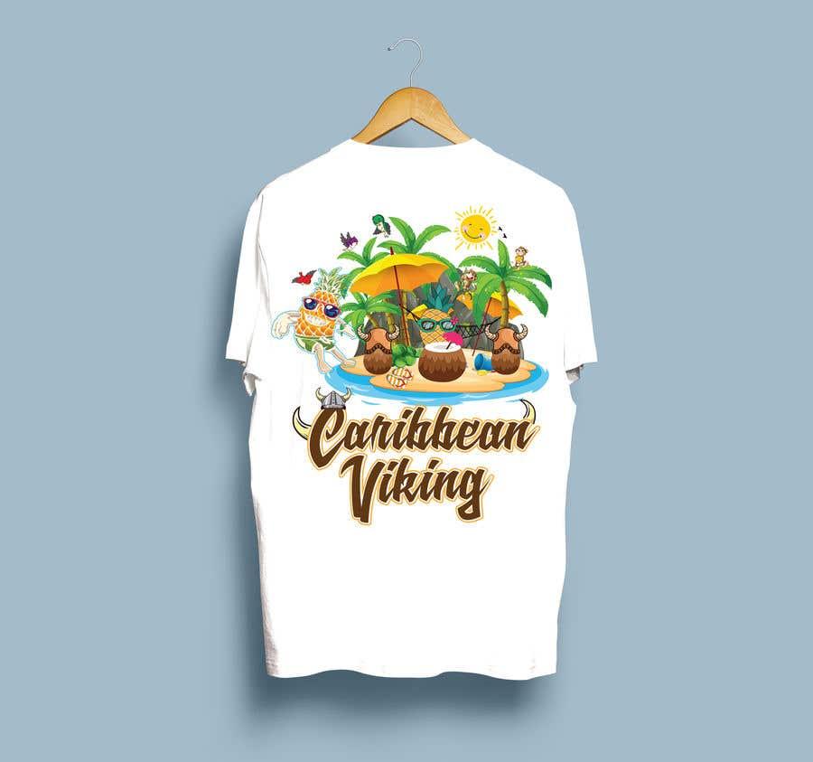 "Penyertaan Peraduan #42 untuk ""Caribbean Viking"" shirt designs"