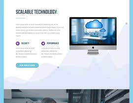 nº 3 pour Website single page for a startup in Artificial Intelligence par hosnearasharif