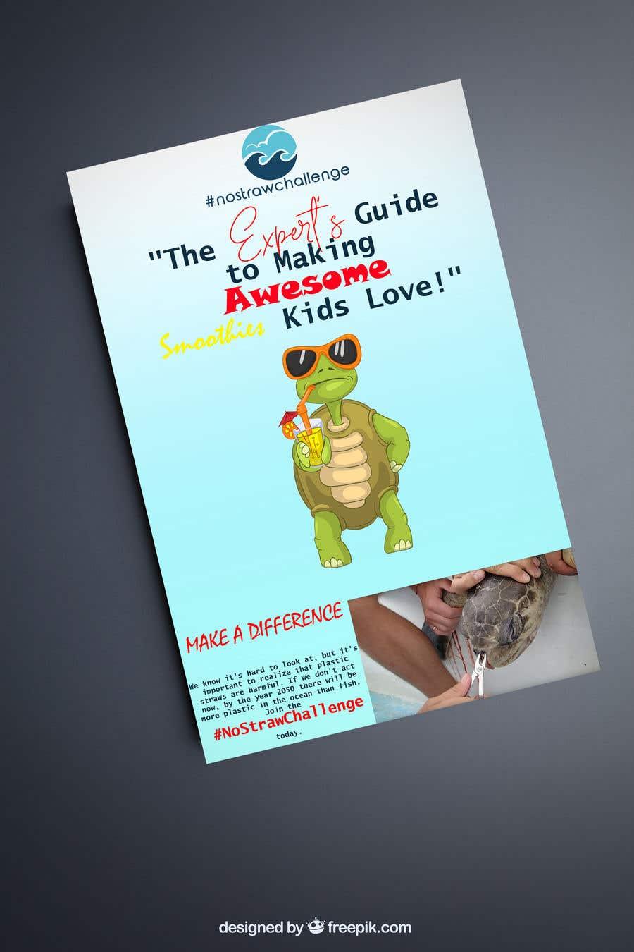 Kilpailutyö #64 kilpailussa Created us a Smoothie Ebook Cover