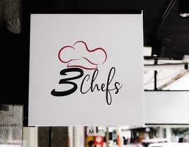 #37 for Logo Design 3 Chefs by bakibillah3937