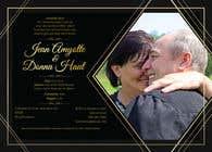 Bài tham dự #9 về Graphic Design cho cuộc thi wedding invites