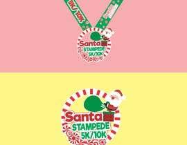 #28 untuk Design a logo for a race medal oleh flowerpapermade
