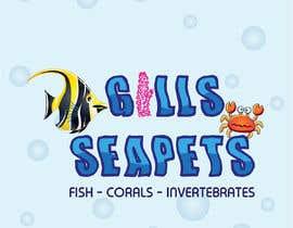 Nro 417 kilpailuun Logo (Gills Seapets) käyttäjältä reshmamanohar19