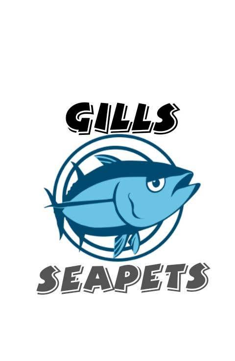 Penyertaan Peraduan #374 untuk Logo (Gills Seapets)