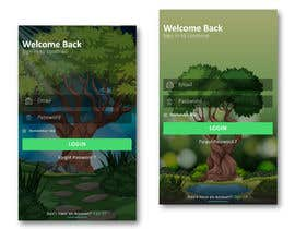 #7 for Background for a login screen of a mobile app by mohammedyasik