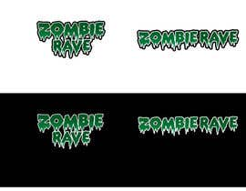 #75 para Logo Design for ZOMBIE RAVE por GeorgeOrf