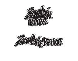#71 para Logo Design for ZOMBIE RAVE por highspindesign