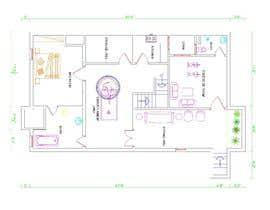 Nro 31 kilpailuun Design Floor plans for finished basement käyttäjältä murtazanawaz08