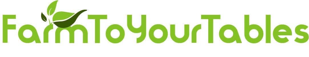 Inscrição nº 62 do Concurso para Need Logo For my ecommerce website  (farm to your tables)