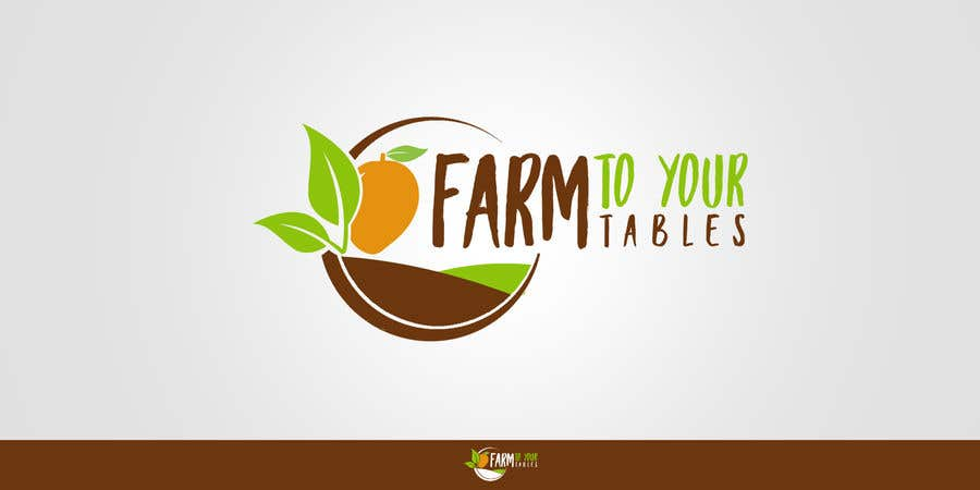 Inscrição nº 2 do Concurso para Need Logo For my ecommerce website  (farm to your tables)