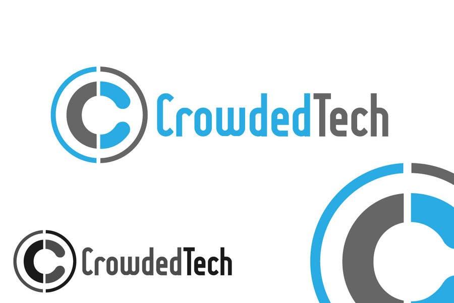 Kilpailutyö #208 kilpailussa Logo Design for CrowdedTech