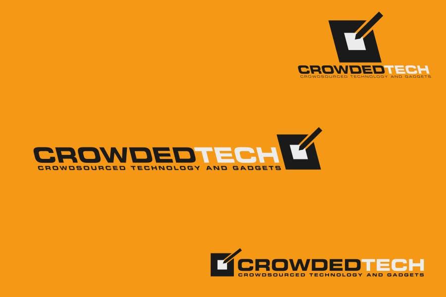 Kilpailutyö #111 kilpailussa Logo Design for CrowdedTech