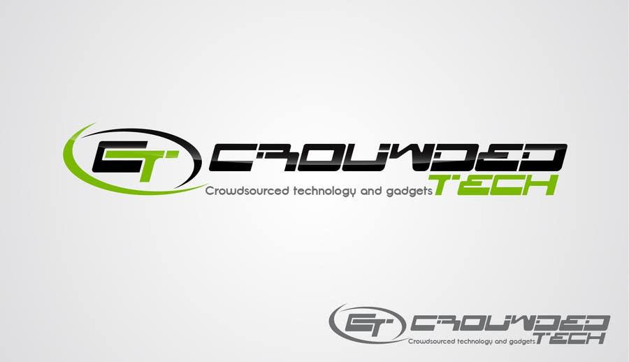 Kilpailutyö #132 kilpailussa Logo Design for CrowdedTech