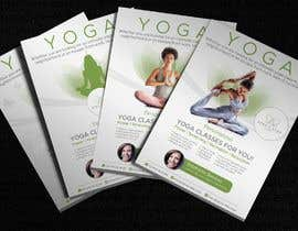 #252 for Dear Freelancer,   I'd like you to use your beautiful creativity and talent to create a marketing POSTER and a FLYER for my YOGA activity which I can easily change the text/objects afterwards.   Those should be inspired and in accordance with my LOGO and  by JewelBluedot