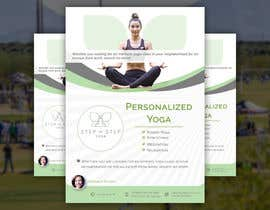 #245 for Dear Freelancer,   I'd like you to use your beautiful creativity and talent to create a marketing POSTER and a FLYER for my YOGA activity which I can easily change the text/objects afterwards.   Those should be inspired and in accordance with my LOGO and  by DesignerSohan