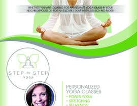 #249 for Dear Freelancer,   I'd like you to use your beautiful creativity and talent to create a marketing POSTER and a FLYER for my YOGA activity which I can easily change the text/objects afterwards.   Those should be inspired and in accordance with my LOGO and  by dsyro5552013