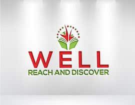 #37 para WELL reach and discover logo por kamalhossainobi7