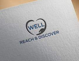 #33 para WELL reach and discover logo por mohasinalam143