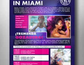 #114 untuk Flyers for A Dancing workshop special event and practice party in miami oleh almamuncool