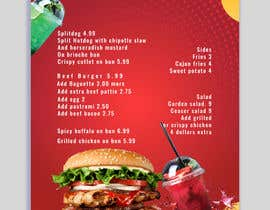 #12 untuk I need menu for 8.5 by 11  With my logo on top and it should say subsational student menu oleh saayyemahmed