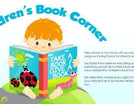 #2 dla Illustration Design for The Children's Book Corner at Top Dollar Pawn przez egreener