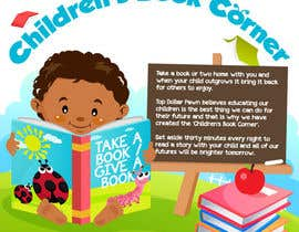 #12 untuk Illustration Design for The Children's Book Corner at Top Dollar Pawn oleh egreener