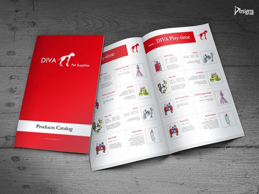 Konkurrenceindlæg #                                        26                                      for                                         Stationery Design for Diva Pet Supplies