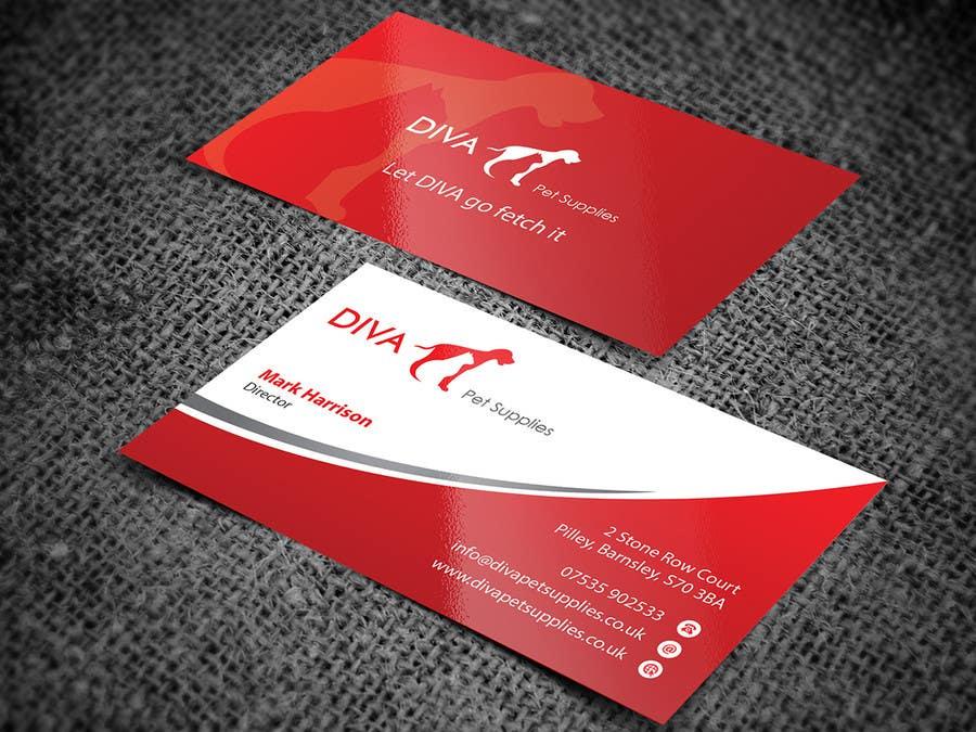 Konkurrenceindlæg #                                        14                                      for                                         Stationery Design for Diva Pet Supplies