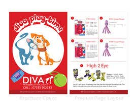 nº 18 pour Stationery Design for Diva Pet Supplies par YogNel