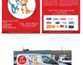 #22 para Stationery Design for Diva Pet Supplies por YogNel
