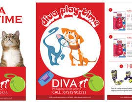 nº 23 pour Stationery Design for Diva Pet Supplies par YogNel