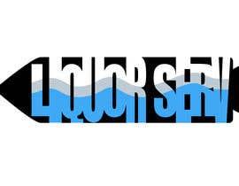 "Nro 6 kilpailuun Design a Logo for ""Liquorserv"" - Liquor Delivery Service käyttäjältä Jessica89c"
