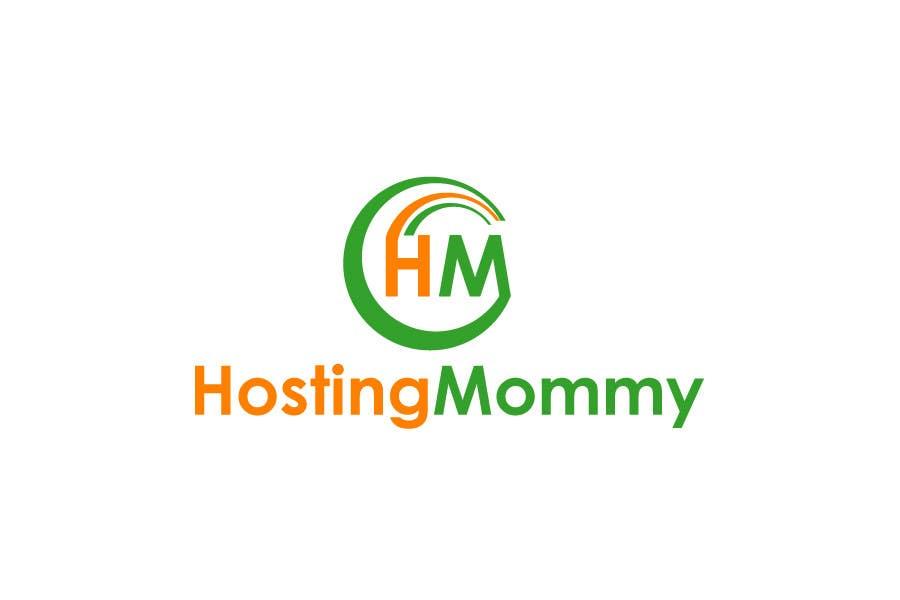 Penyertaan Peraduan #5 untuk Logo Design for Hosting Mommy