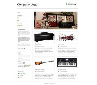 #9 for Website Design for businnes website by dipesh989
