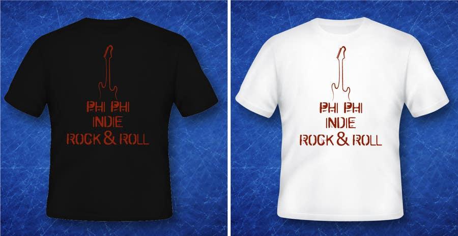 Konkurrenceindlæg #                                        27                                      for                                         Logo Design for Phi Phi Indie Rock & Roll