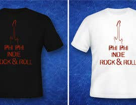 #27 para Logo Design for Phi Phi Indie Rock & Roll por maxindia099