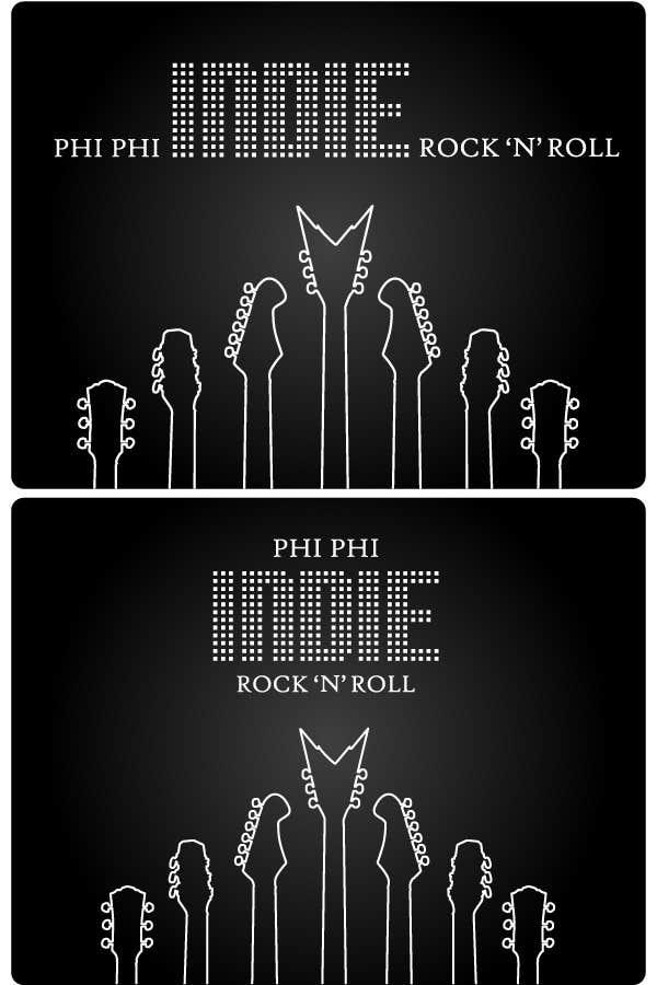 Penyertaan Peraduan #                                        57                                      untuk                                         Logo Design for Phi Phi Indie Rock & Roll