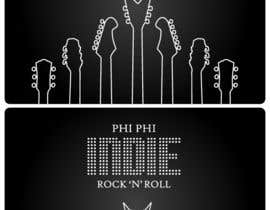 #57 para Logo Design for Phi Phi Indie Rock & Roll por maxindia099
