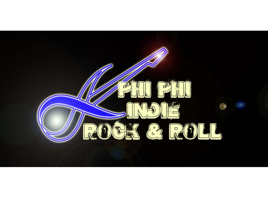 Konkurrenceindlæg #                                        47                                      for                                         Logo Design for Phi Phi Indie Rock & Roll