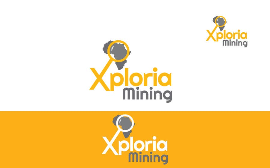 Kilpailutyö #                                        20                                      kilpailussa                                         Logo Design for a Mining Company
