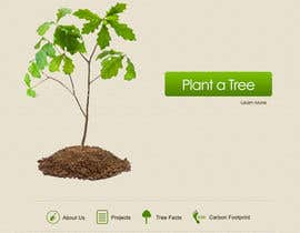 nº 143 pour Website Design for 1 Tree Planted par Krishley